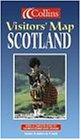 Collins Visitors' Map Scotland (Collins British Isles and Ireland Maps)