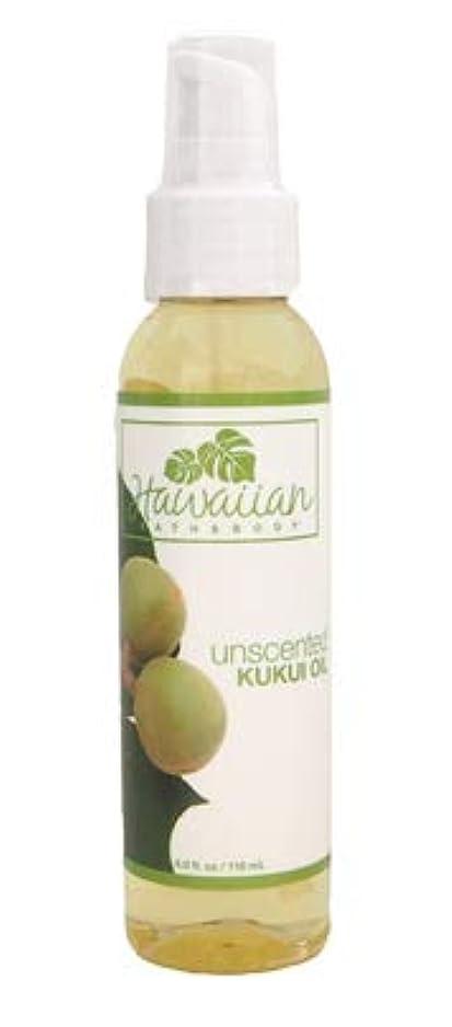 甘美な香水アンビエントhawaiian bath&body ククイオイル無香料 4.0oz(118ml)
