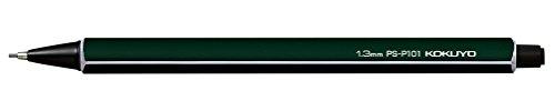 コクヨ 鉛筆シャープ 芯径1.3mm ダークグリーン PS-P101DG-1P
