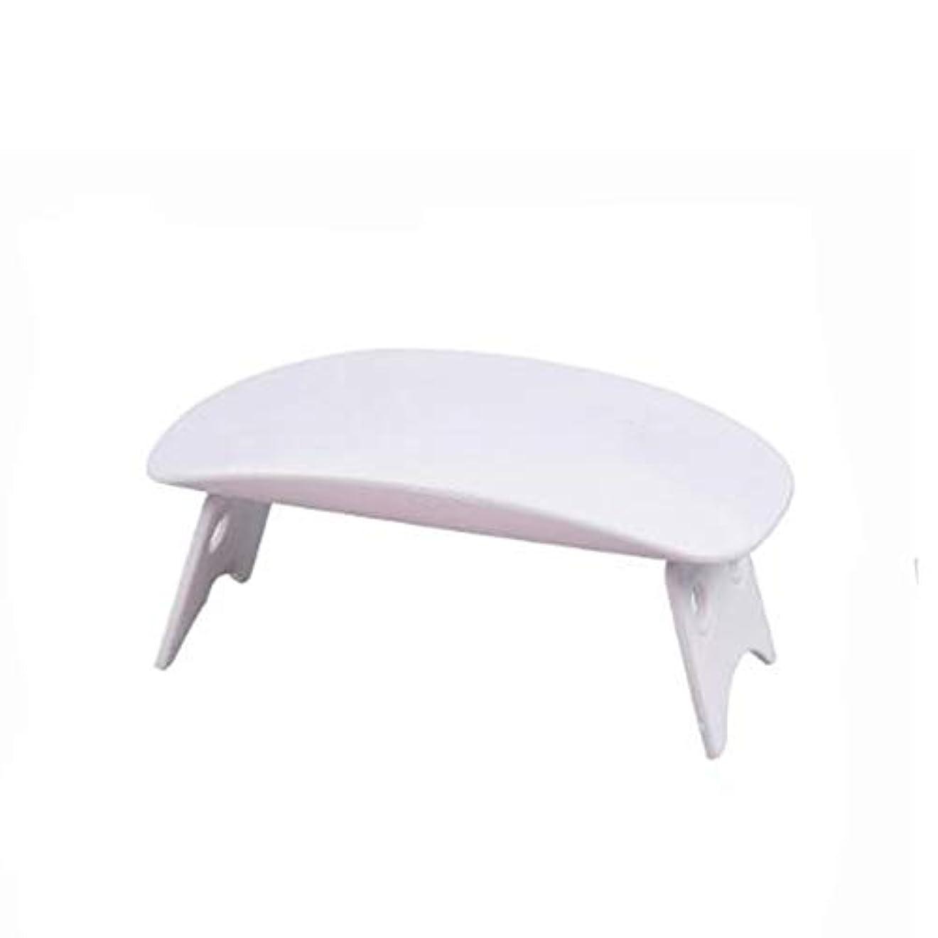 レベル明確に汚れるAomgsd UV-LED スマートライトミニ レジン道具 赤外線美白機能付き 手と足両用 乾燥用 速乾性 自動センサー搭載 (ホワイト)