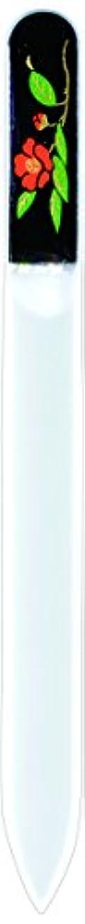 速度収束ロッジ橋本漆芸 ブラジェク製高級爪ヤスリ 十一月 紅葉 紙箱