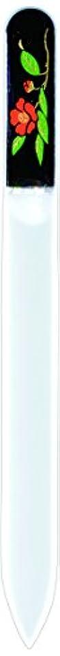 発明する並外れて強制橋本漆芸 ブラジェク製高級爪ヤスリ 十一月 紅葉 紙箱