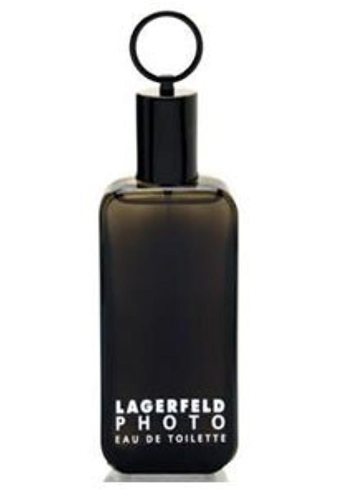 若い遠洋の部分的Photo (フォト) 4.2 oz (125ml) EDT Spray by Karl Lagerfeld for Men