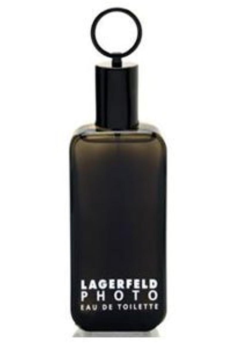悲しいフレキシブルストリームPhoto (フォト) 4.2 oz (125ml) EDT Spray by Karl Lagerfeld for Men