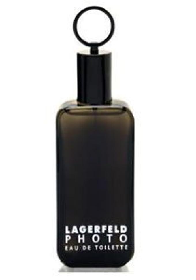 建築集計こしょうPhoto (フォト) 4.2 oz (125ml) EDT Spray by Karl Lagerfeld for Men