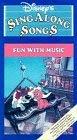 Disney's Sing Along Songs: Fun With Music [VHS] [並行輸入品]