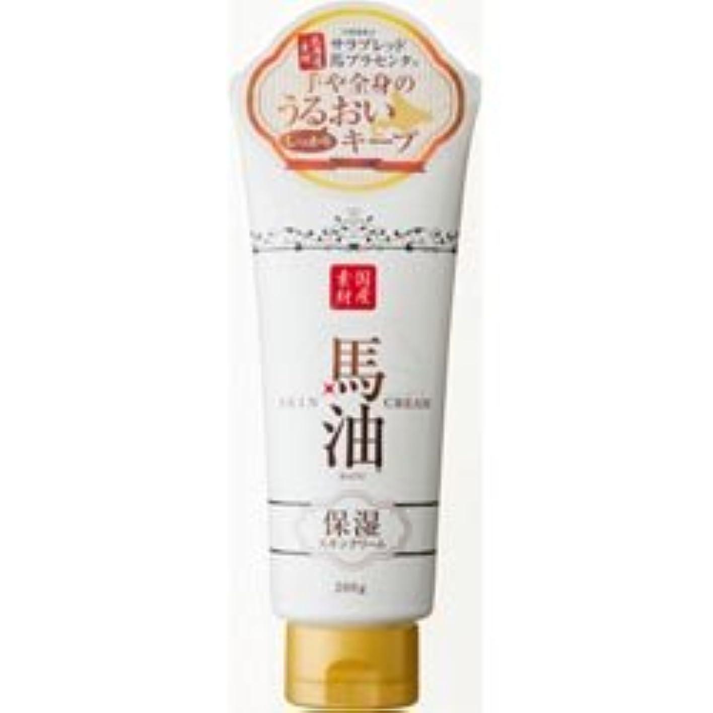 平手打ちカルシウム化粧【アイスタイル】リシャン 馬油保湿スキンクリーム さくらの香り 200g ×10個セット