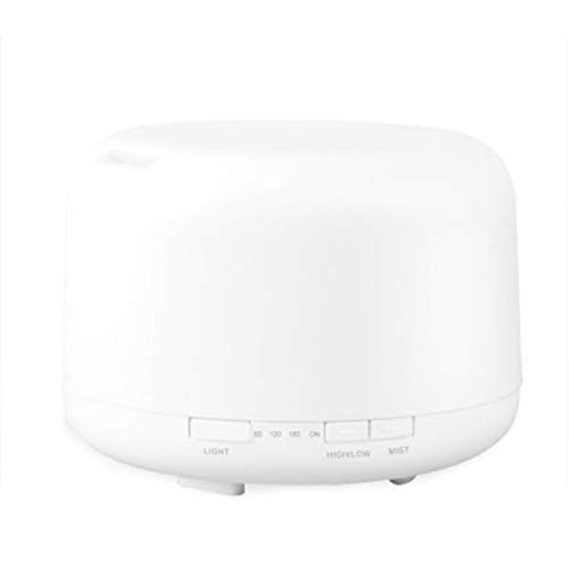 カウンタ赤字事業色LEDライトが付いている500ml超音波冷たい霧の加湿器は家のヨガのオフィスの鉱泉の寝室の拡散器を変えます (Color : Colorful)