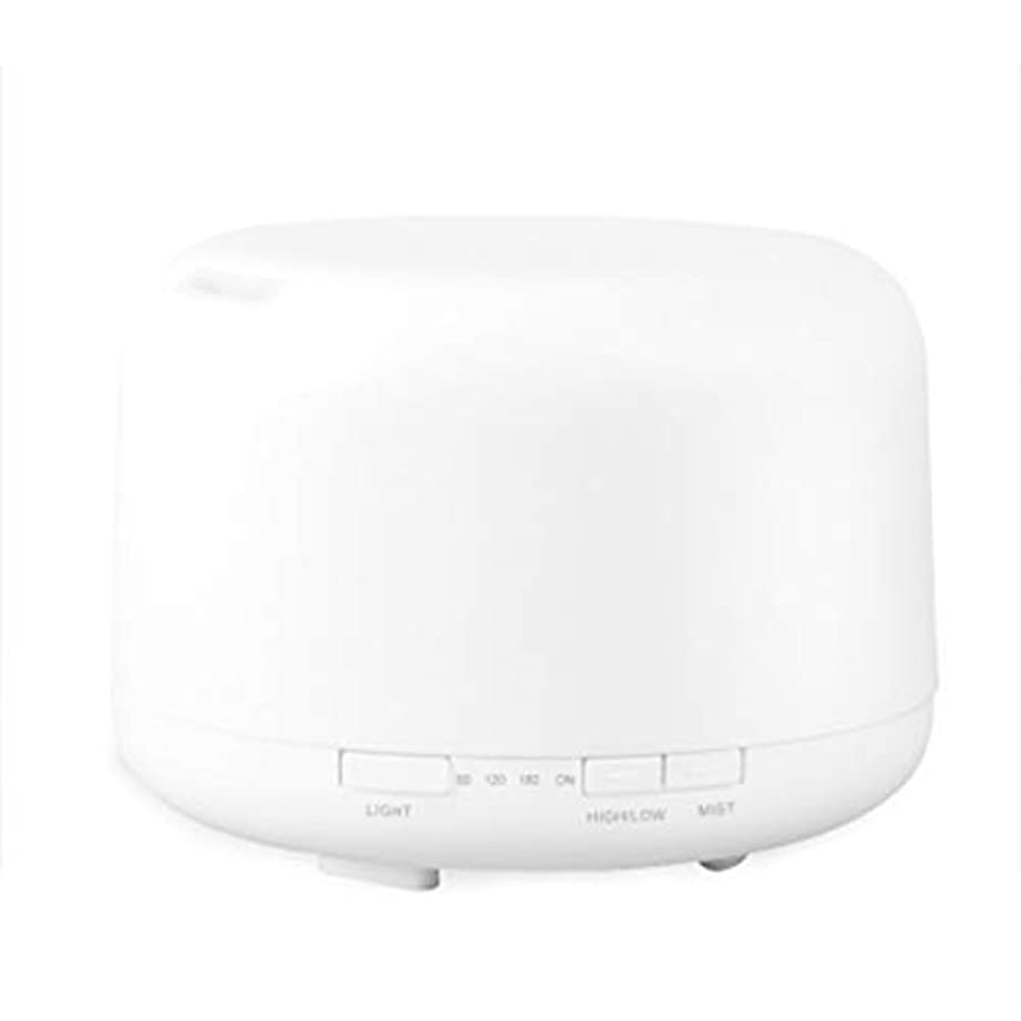 結婚有罪ジャンクション色LEDライトが付いている500ml超音波冷たい霧の加湿器は家のヨガのオフィスの鉱泉の寝室の拡散器を変えます (Color : Colorful)