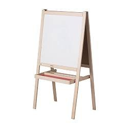IKEA  イケア MALAイーゼル ホワイト