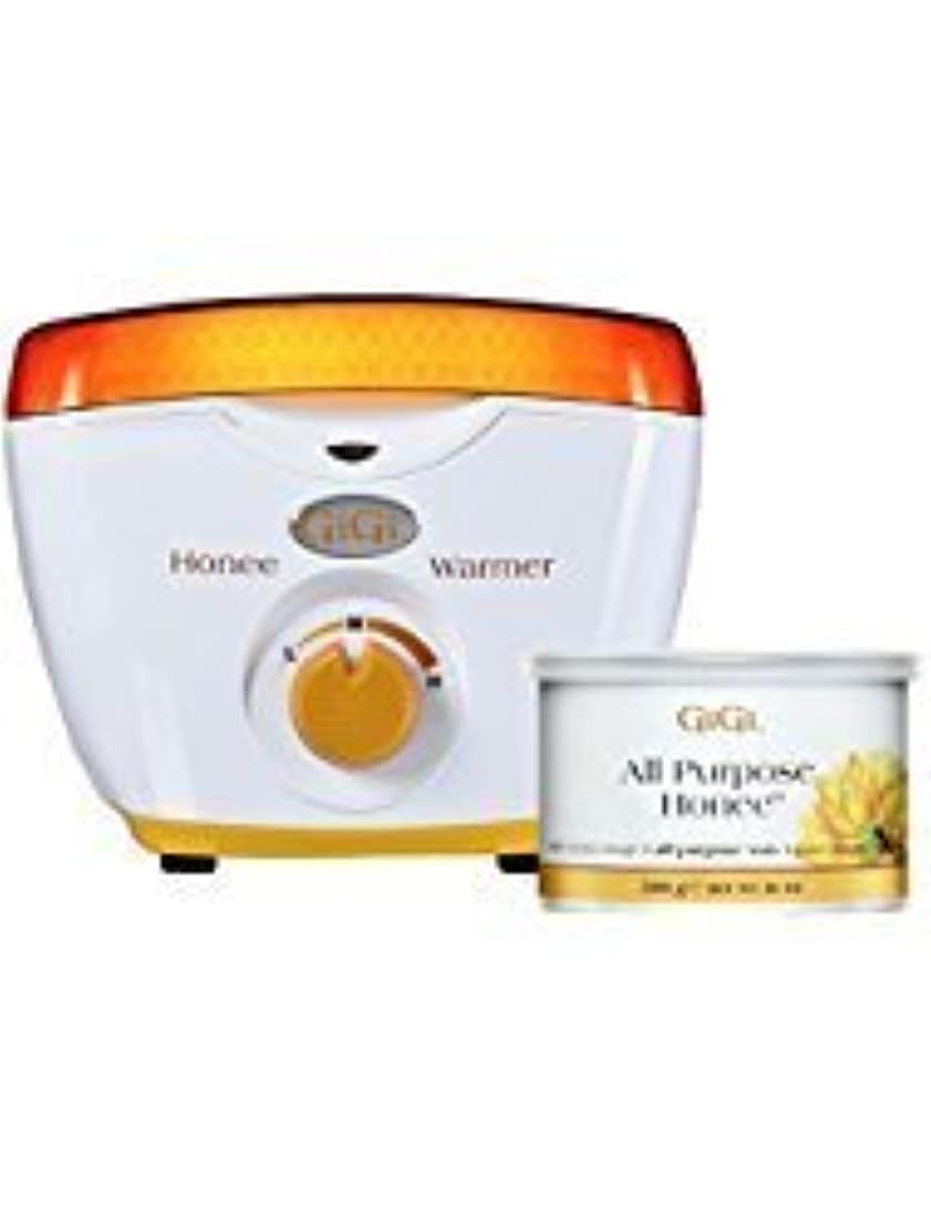 書くアリーナ死ぬGiGi Honee Hair Removal Wax Warmer for 14 oz Wax Cans [並行輸入品]
