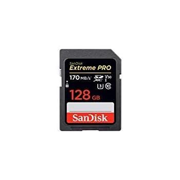 SanDisk 128GB Extreme PRO UHS-I SDXC 170MB/s SDSDXXY-128G サンディスク 海外パッケージ品