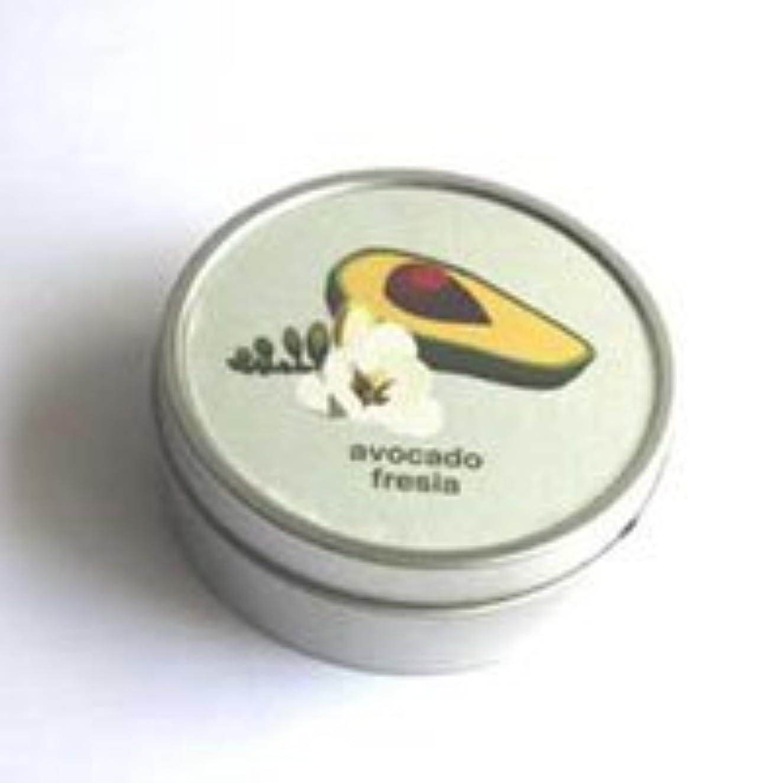 フェロー諸島オーブン不安定なマインデザイン トラベルソイキャンドル (アボカドフリージア)