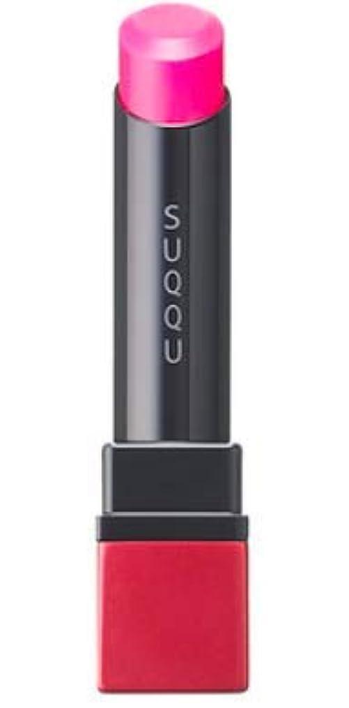 ネットセンサーうなるSUQQU(スック) クリア ネオン リップスティック (101 潤赤 -URUMIAKA (限定色))