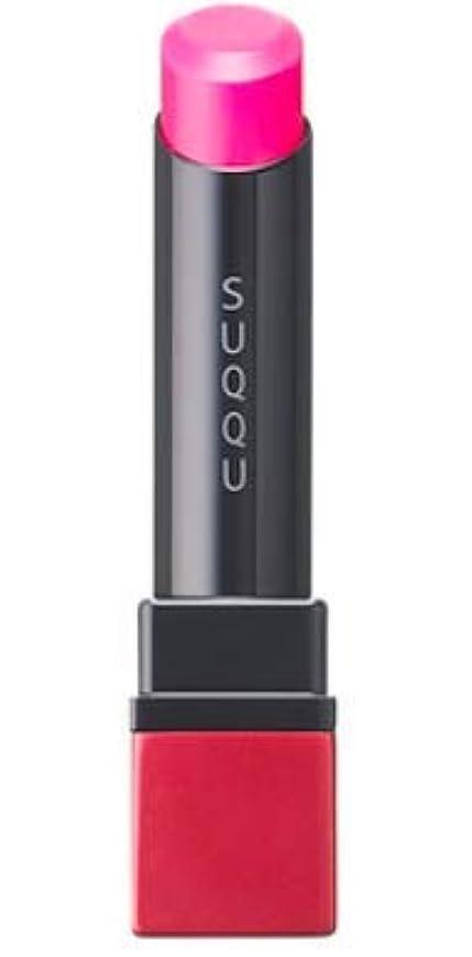 調整なめらかな上にSUQQU(スック) クリア ネオン リップスティック (101 潤赤 -URUMIAKA (限定色))