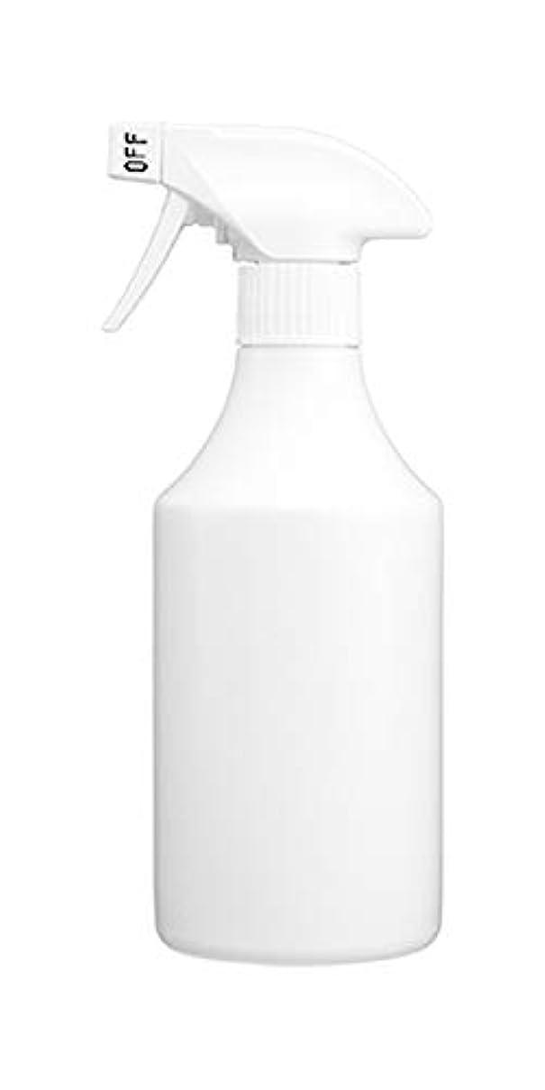 おかしいグロー十分ではないスプレーボトル 500ml[詰め替えボトル?詰め替え容器?白?ホワイト?ボトル?消臭剤?除菌剤?クリーナー] (霧)