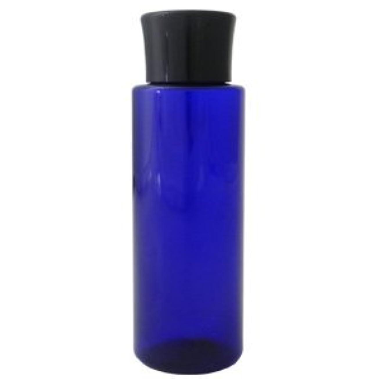 ナプキン排泄物鋭くPETボトル コバルトブルー (青) 100ml *化粧水用中栓