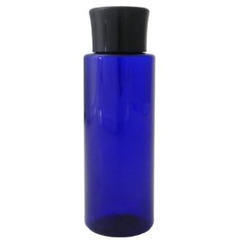 骨の折れるおもしろい不純PETボトル コバルトブルー (青) 100ml *化粧水用中栓