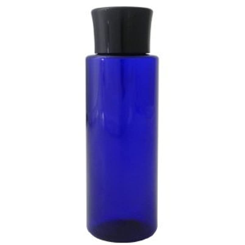 はい発表面積PETボトル コバルトブルー (青) 100ml *化粧水用中栓