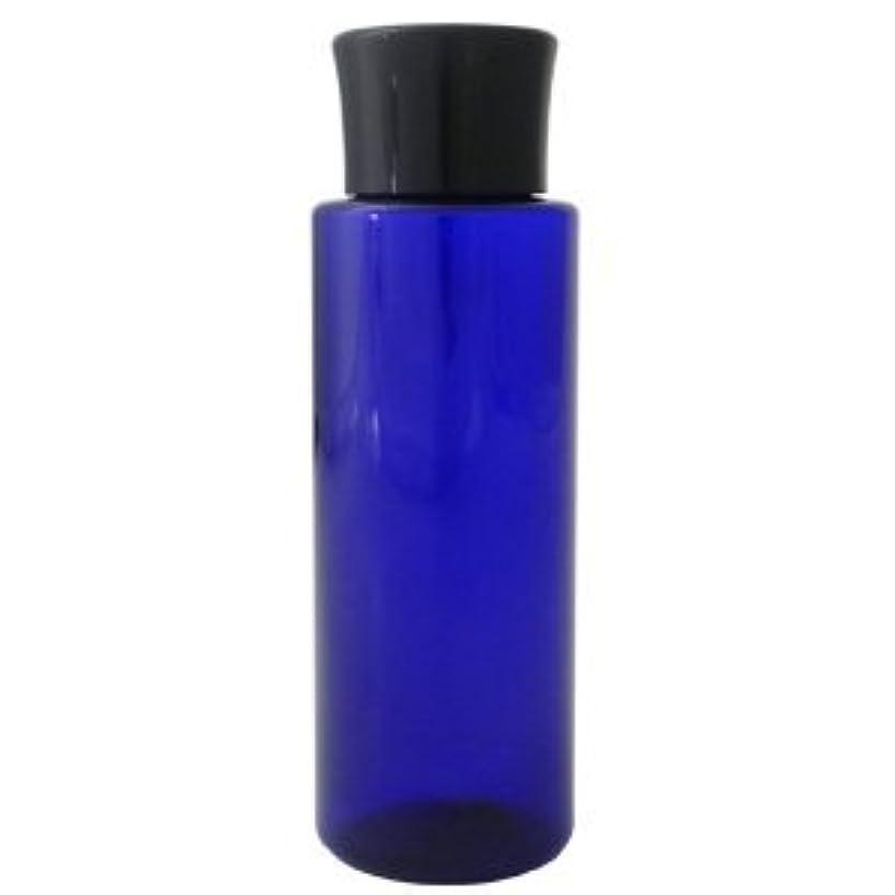 アラーム半導体虐待PETボトル コバルトブルー (青) 100ml *化粧水用中栓