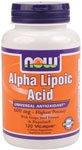 NOWフーズ アルファリボ酸 Alpha Lipoic Acid 600mg 120カプセル(並行輸入品)