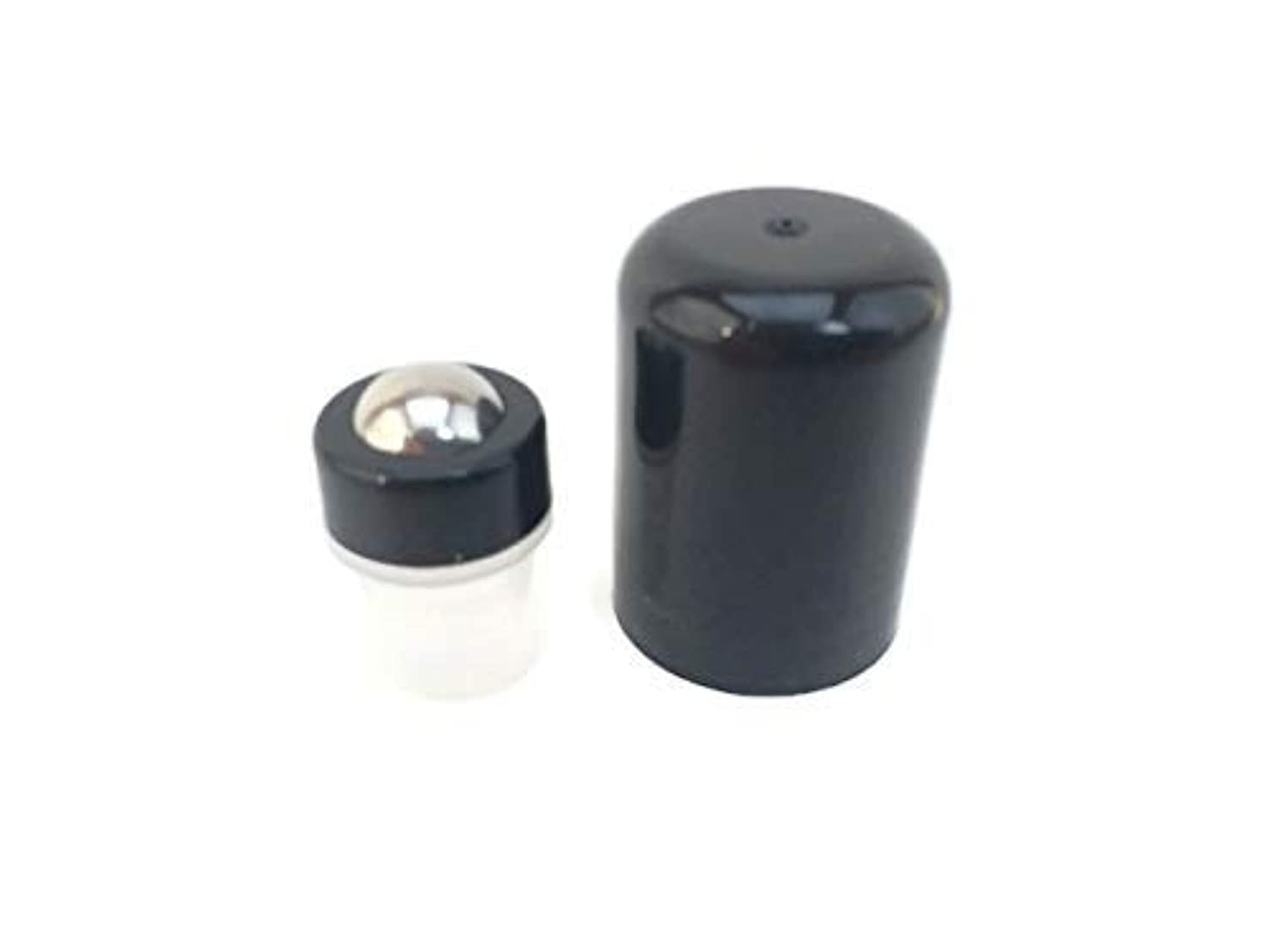 Essential Oil Roller Inserts for 5 and 15ml Essential Oil Bottles. Pack of 12 Stainless Steel Leak Proof with...