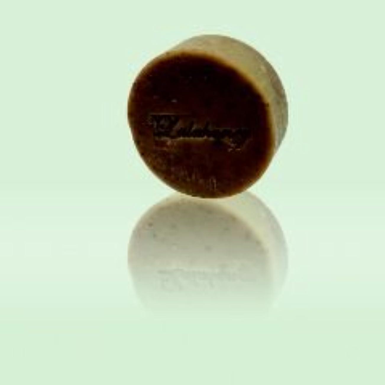 演劇ソファーボトルLALAHONEY 石鹸〈チョコレート&オレンジ〉80g【手作りでシンプルなコールドプロセス製法】
