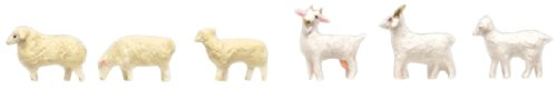 トミーテック ジオコレ 情景コレクション ザ・動物005 羊・ヤギ ジオラマ用品
