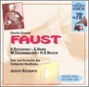 Charles Gounod: Faust (complete opera) (2 CD Set) - Helge Roswaenge, Georg Hann, Margarete Teschemacher , Joseph Keilberth (conductor) in German (recorded December 5, 1937)