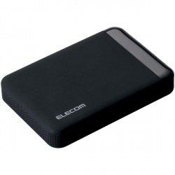 エレコム USB3.0 ポータブルHDD ハードウェア暗号化 パスワード保護 2TB ELP-EEN020UBK