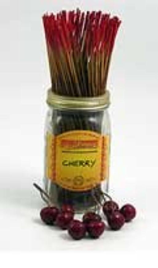 地上の何もないアカデミックWild Berry Incense Inc。チェリーIncense – 100 STICKS
