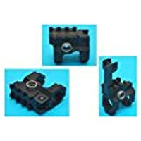 【刻印入り】G&P GP914 Vltor タイプ フロントサイト /BK(黒・ブラック)★レールとしても使用可能な優れもの!