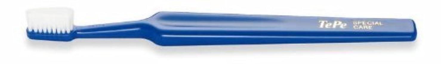 ルーに対応する限り【テペ】スペシャルケア コンパクト 25本【歯ブラシ】【特別超やわらかめ】青/ブルー Special Care
