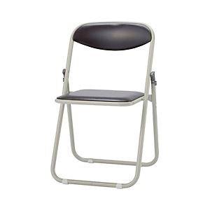 サンケイ 折りたたみ椅子 ダークブラウン 1セット(6脚) ...