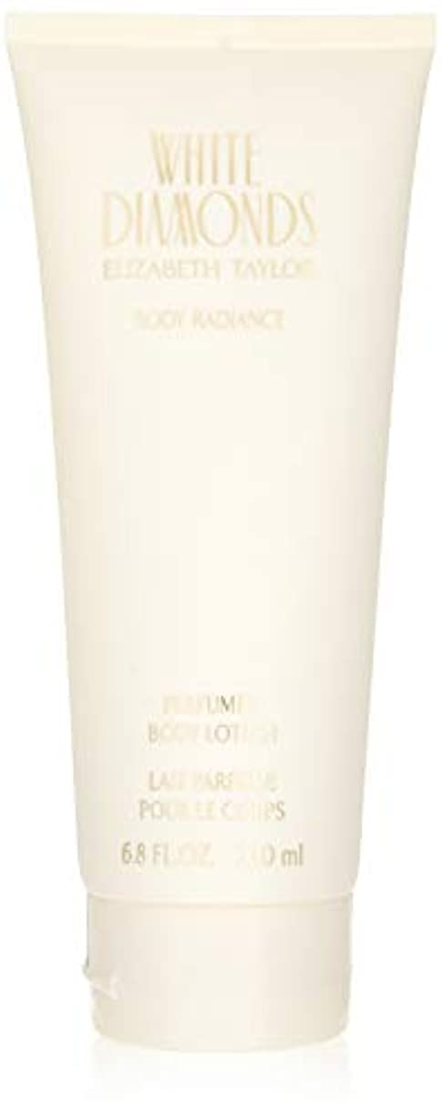 眠いです恐怖症健康White Diamonds for Women 6.8 oz Body Lotion