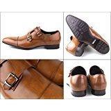 リーガル シューズ メンズ ストレート ダブルモンクストラップ REGAL 636R AL ブラウン 紳士靴 BR 26.5