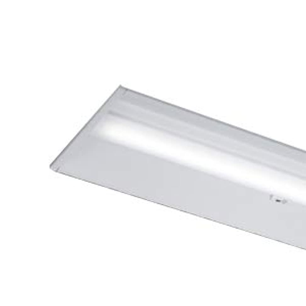美的発明お願いします東芝 LEDベースライト 40タイプ 埋込形下面開放W300 人感センサー内蔵 一般2,500lmタイプ Hf32形×1灯 定格出力形器具相当 温白色 AC100V~242V LEDバー付 LEKR430253YWWLD9(LEER43002YLD9+LEEM40253WW01)