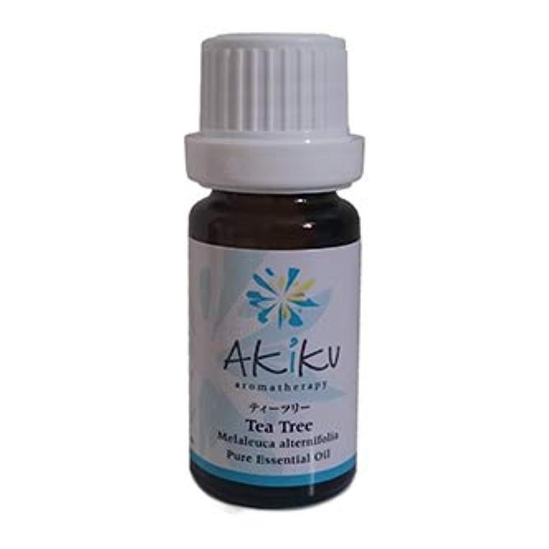 聞く大きさジャングルAkiku Aroma (アキクアロマ) 精油 100%天然 ティーツリー Tea Tree 12ml