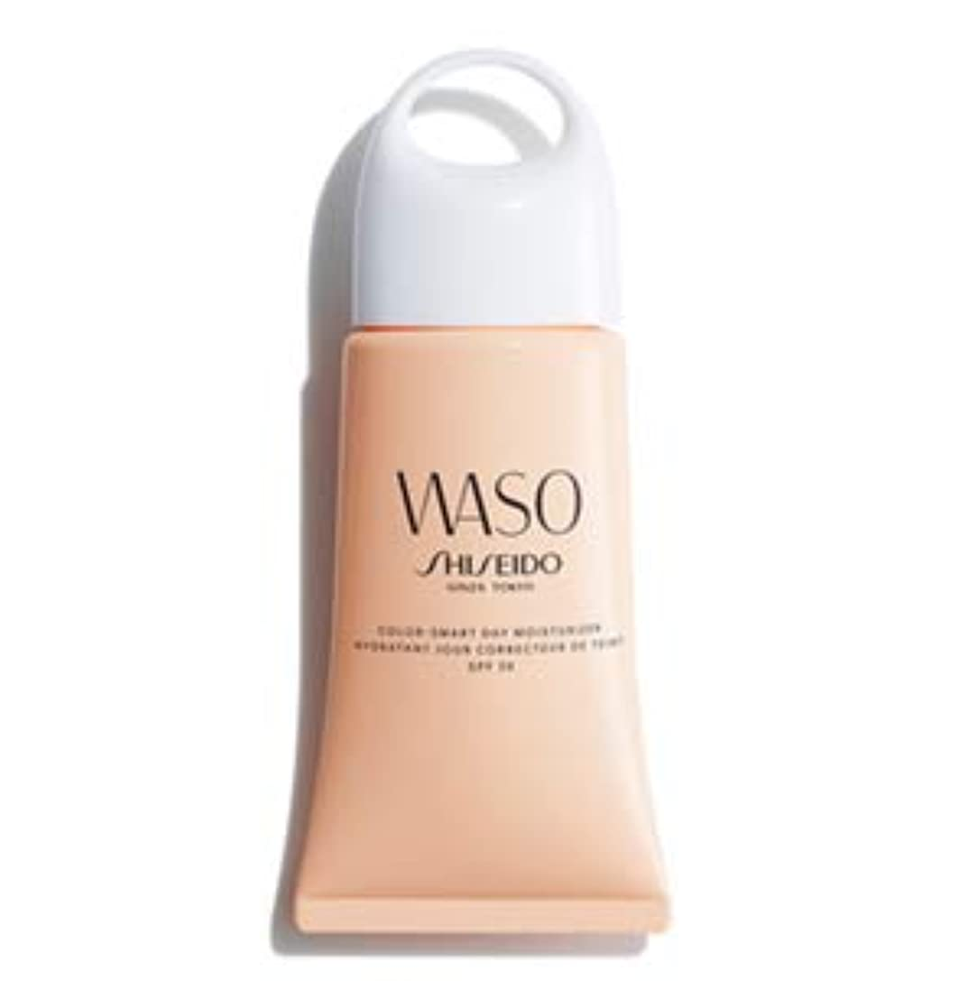 ドキドキスペア普及WASO(ワソウ) カラー スマート デー モイスチャライザー PA+++ / SPF30 (日中用乳液)_53g