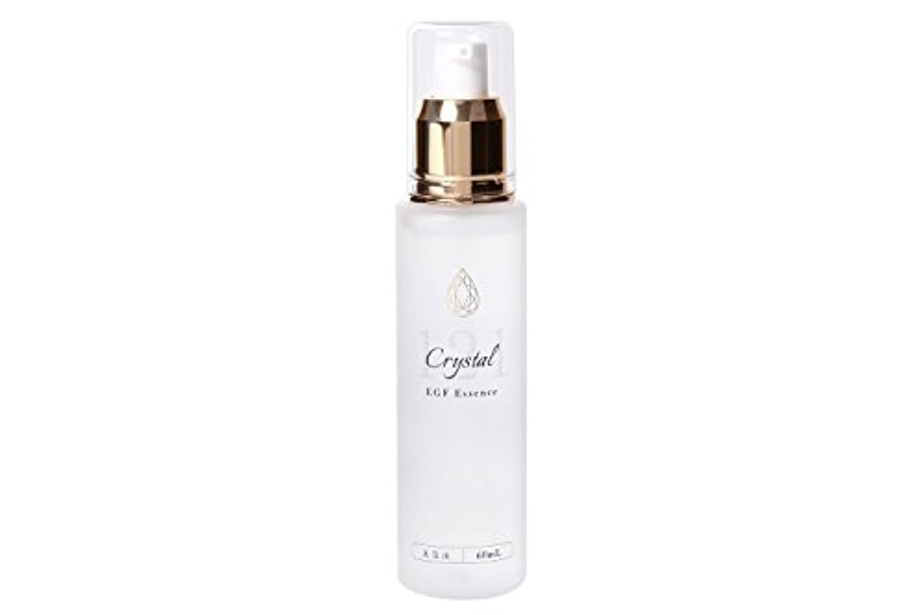 仕出します悲観的枠EGF 美容液 エッセンス 60ml クリスタル121美容液 レディース メンズ 無香料
