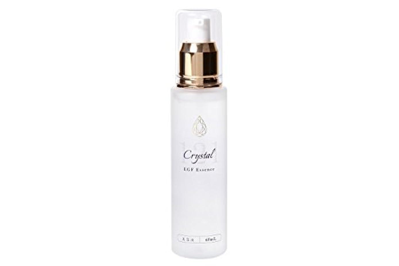 人種近々カルシウムEGF 美容液 エッセンス 60ml クリスタル121美容液 レディース メンズ 無香料