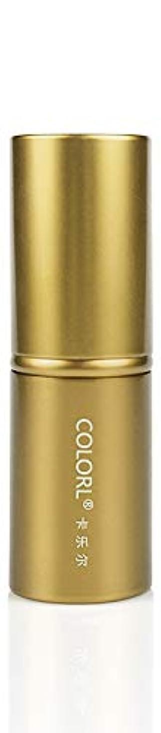 生じる非行うれしいCOLORL メイクブラシ 1本 化粧ブラシ 化粧筆 ファンデーションブラシ フェイスブラシ パウダーブラシ 多機能 ゴールド
