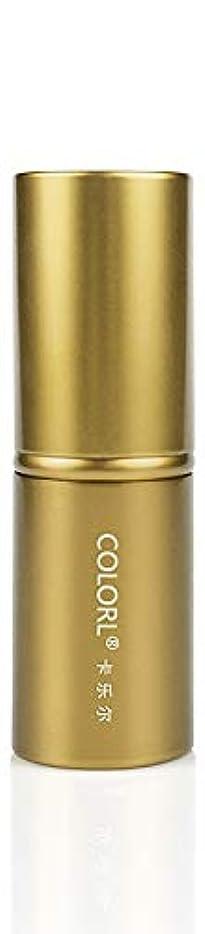 喪見出し時折COLORL メイクブラシ 1本 化粧ブラシ 化粧筆 ファンデーションブラシ フェイスブラシ パウダーブラシ 多機能 ゴールド