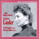 Alma Mahler-Werfel: Samtliche Lieder
