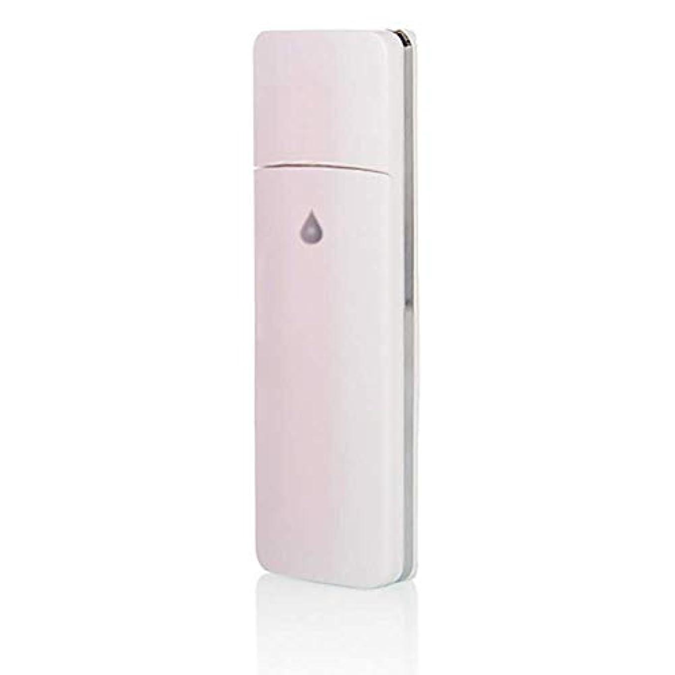 彫刻別に死の顎Nano Mister Handy Moisturizing Mist Sprayer、USB Rechargeable Facial Sprayer with Portable Facial Atomization、Nano Sprayer