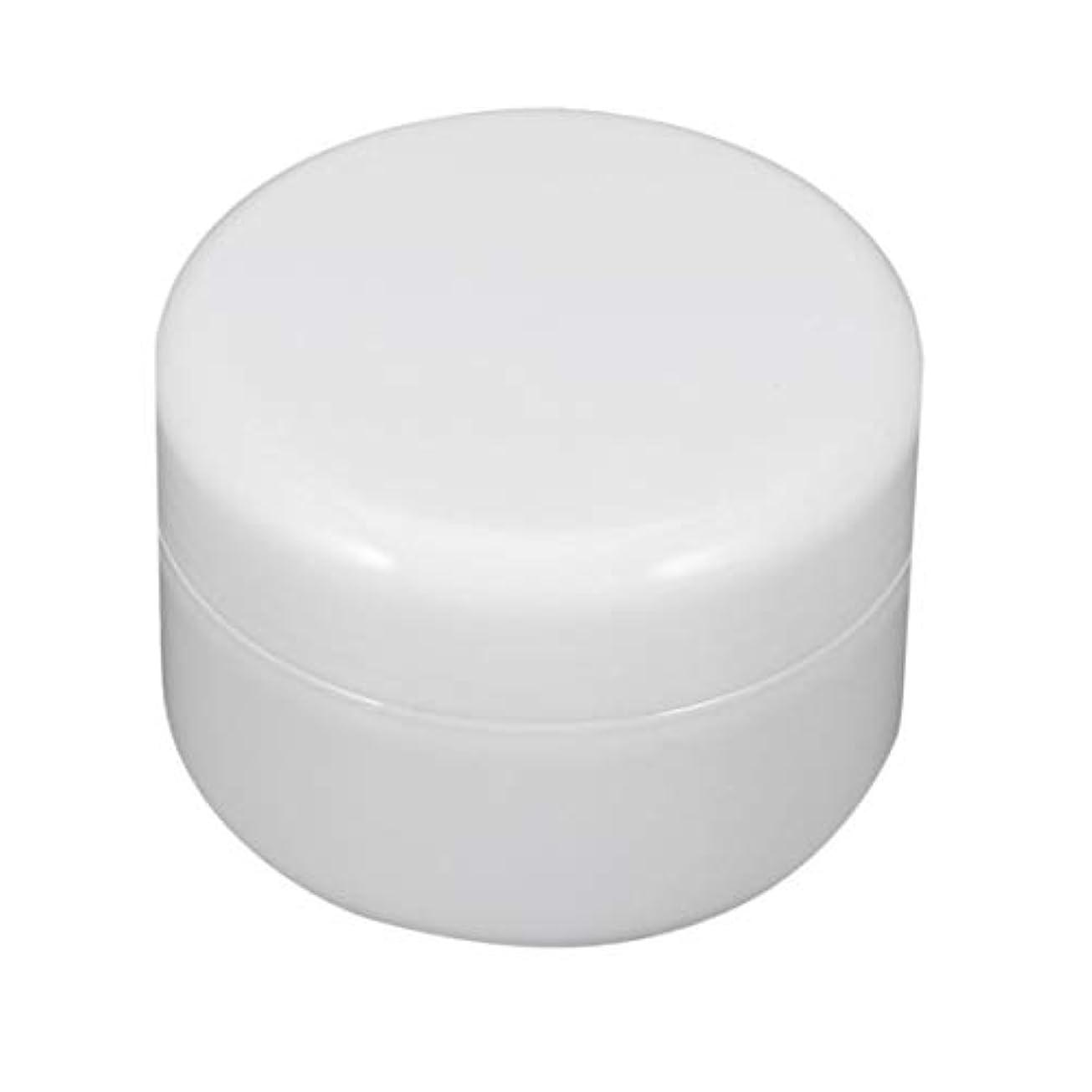 なぜ慎重冷ややかなねじ帽子と瓶詰めのIntercorey円形PPプラスチック化粧品の容器のクリーム色の瓶