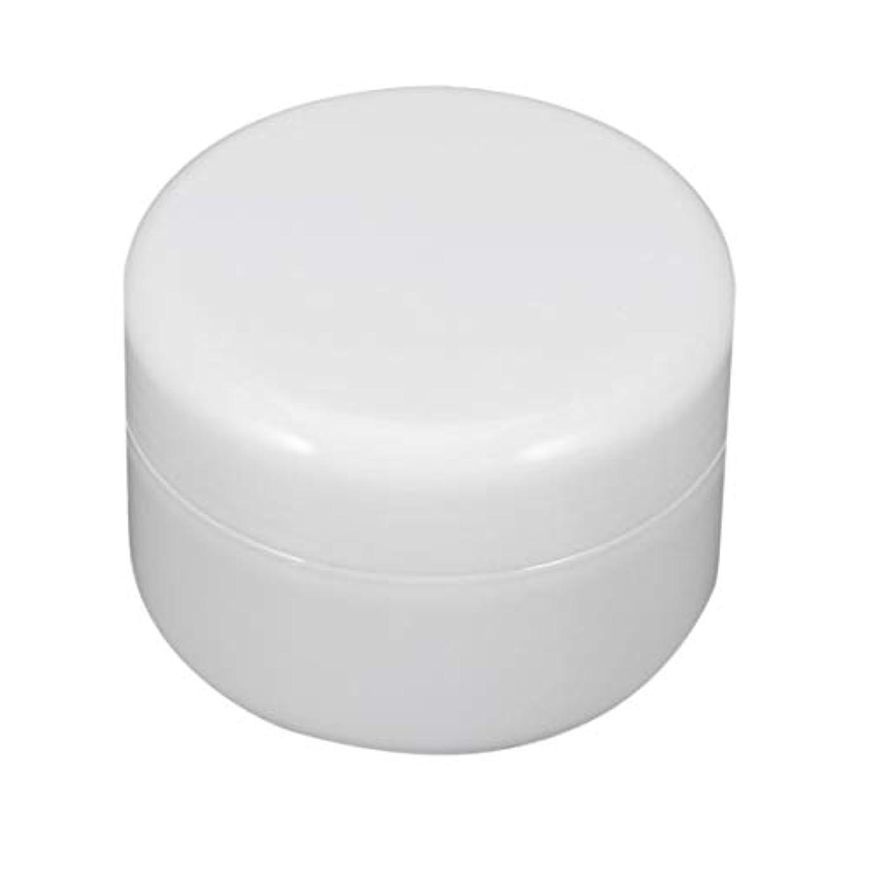 ユーモアパイル罪ねじ帽子と瓶詰めのIntercorey円形PPプラスチック化粧品の容器のクリーム色の瓶