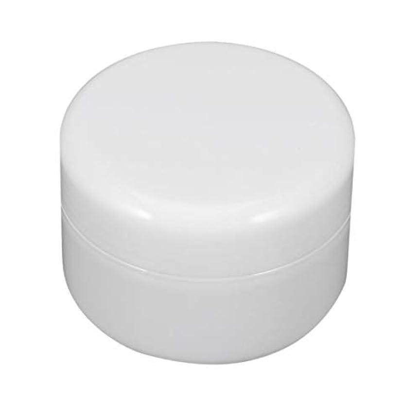 気まぐれな摘む寓話ねじ帽子と瓶詰めのIntercorey円形PPプラスチック化粧品の容器のクリーム色の瓶