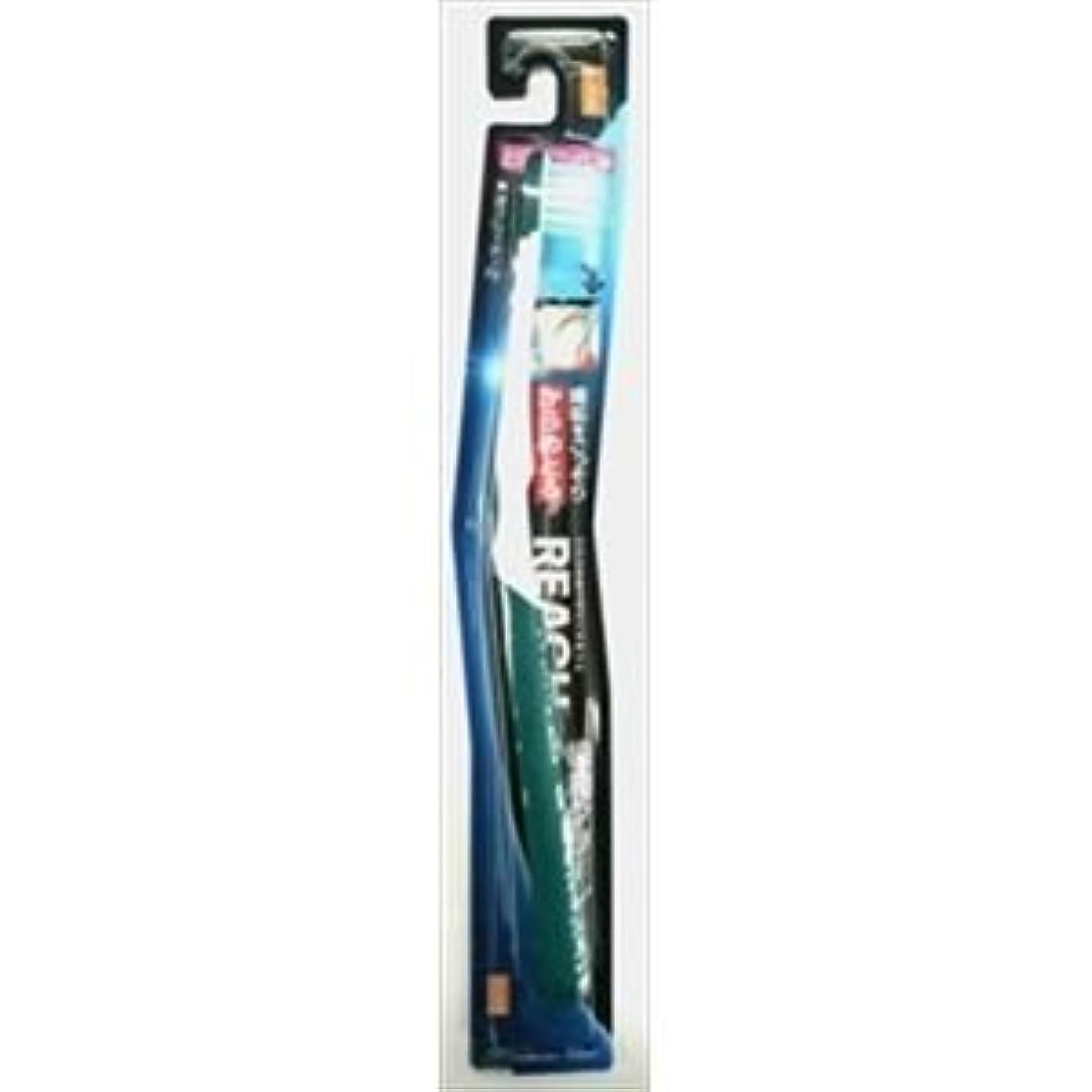賞賛するランタンペンス(まとめ)銀座ステファニー リーチ歯ブラシ リーチ 歯周クリーン とってもコンパクト やわらかめ 【×5点セット】