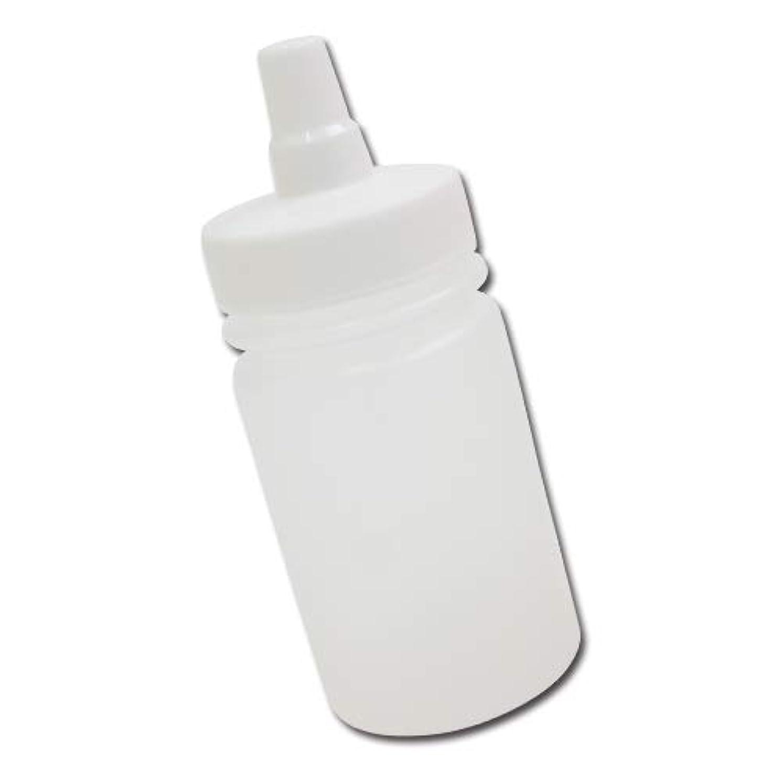 編集者脊椎薬理学はちみつ容器100ml(ホワイトキャップ)│ストレート型 業務用ローションや調味料の小分けに詰め替え用ハチミツ容器(蜂蜜容器)はちみつボトル